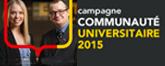 Campagne communauté universitaire 2015